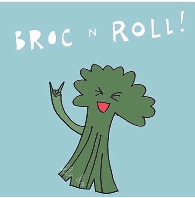 Broccoli | Foodies | Puns | Food Puns | Epicurean Hotel