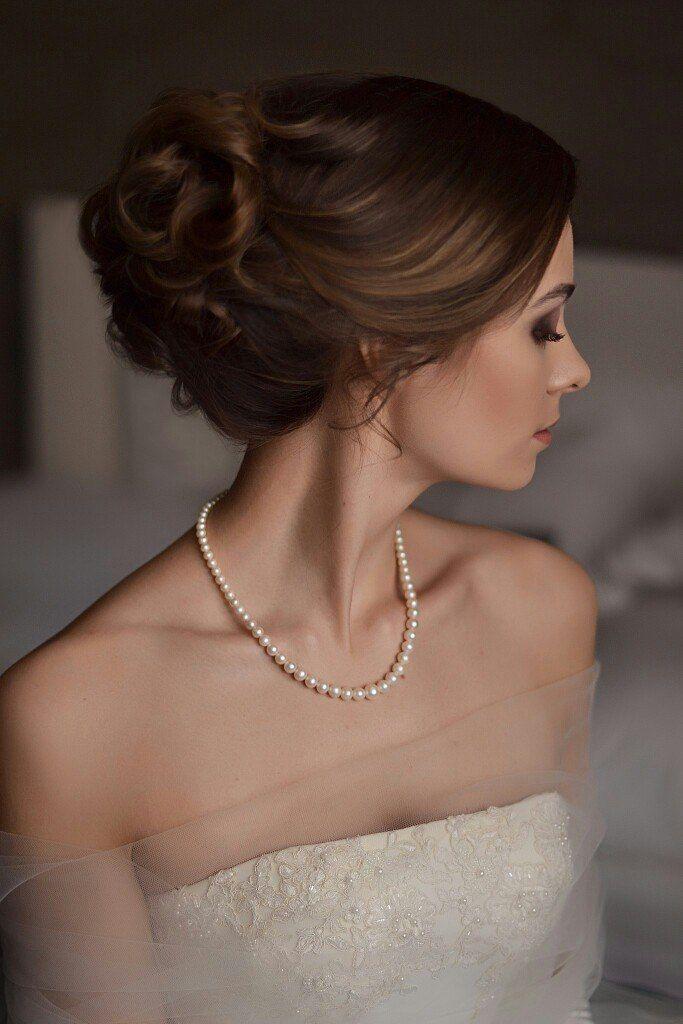 свадебный образ и нежная прическа для невесты