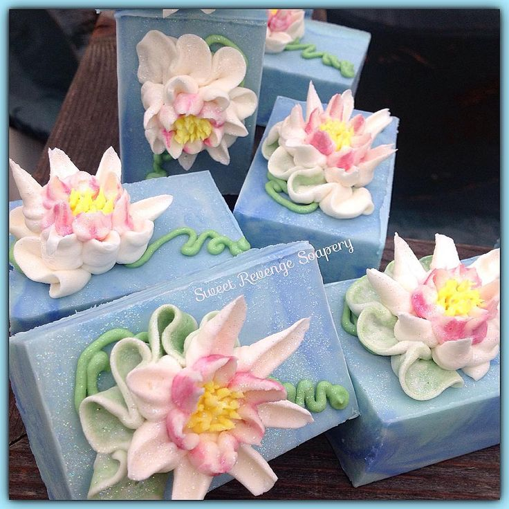 Water Lily and Jasmine Soap