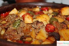 Sebzeli Etli Güveç Tarifi | Süper Anneden Kolay Yemek Tarifleri