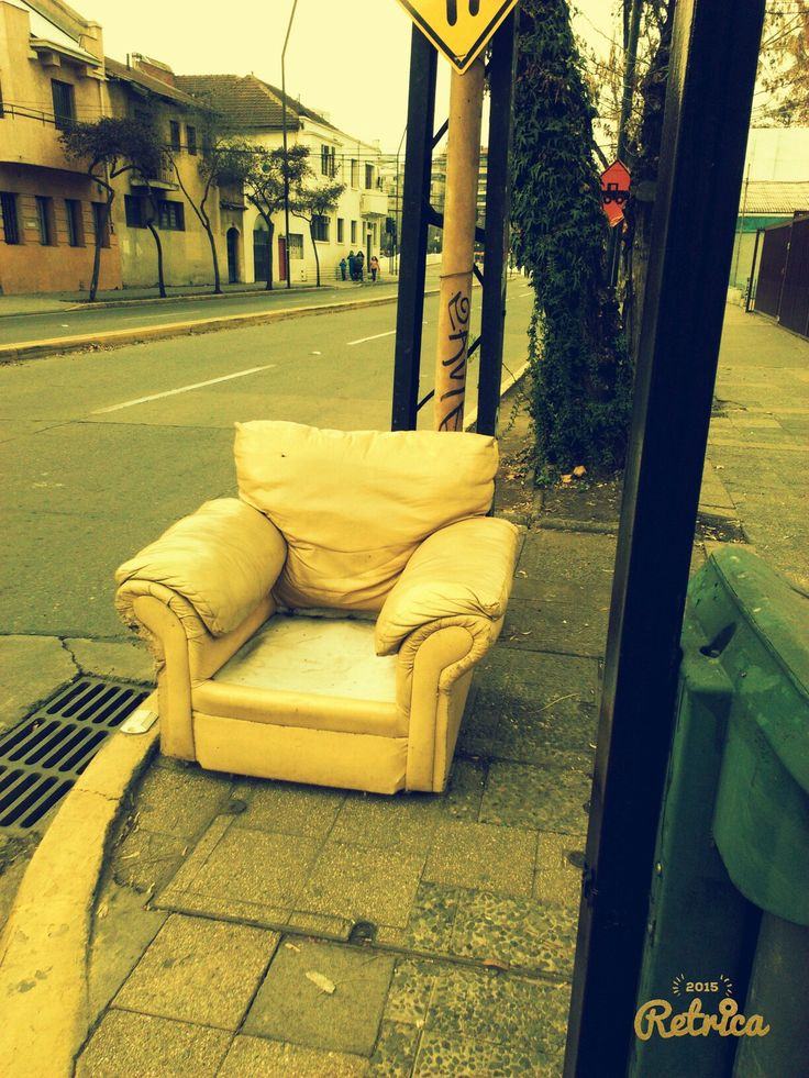 Mi sillón perdido :)