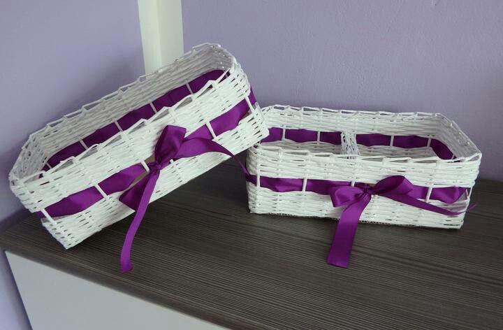 Košíky na vývazky a kornoutky
