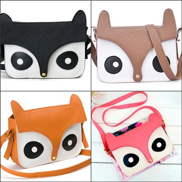 Fox Bags. Ebay.    Source: Sprinkle Of Glitter Blog  http://www.sprinkleofglitter.blogspot.co.uk