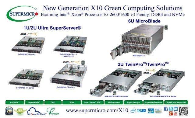 Super Micro Computer, X10 Server Building Block Solutions