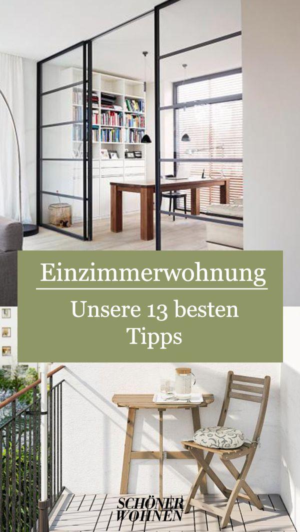 Raumteiler Paravent Bereiche Geschickt Einteilen Bild 2 In 2020 Einzimmerwohnung Einzimmerwohnung Einrichten Zimmer