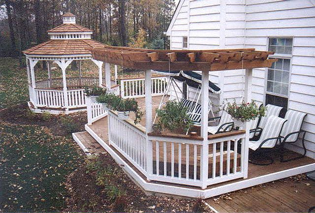 Pictures Of Sundecks Stairs And Benches: 9 Best Decks Images On Pinterest