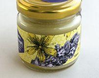 Beeswax ointments for Sotirali Bio by Yannis Aggelakos, via Behance