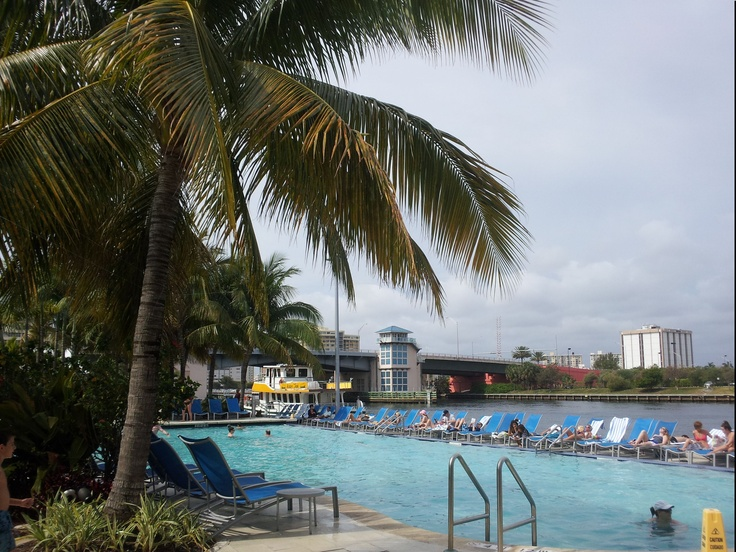 Crowne Plaza Hotel Hollywood Beach. A great place to stay if you are coming down for a football game at Sun Life stadium.