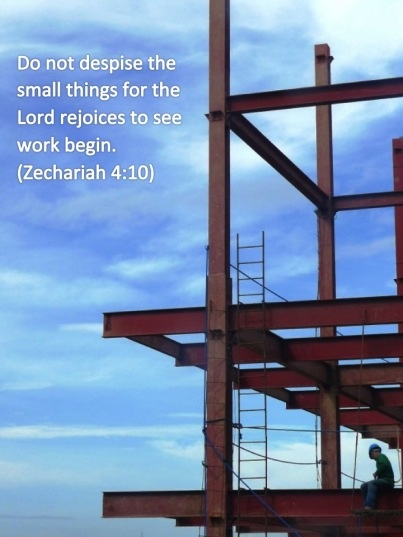 : Prayer, Encouragement, Small Things, Building, Inspiration, Church, God Quotes, Jesus Christ, Baby Step