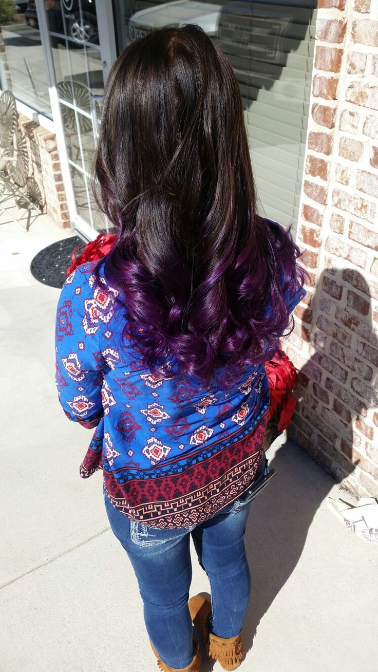 colorful hair styles 1000 ideas about purple ombre on dyed hair 2257 | 2257dfb12958772caea5c88eeb61b0b7