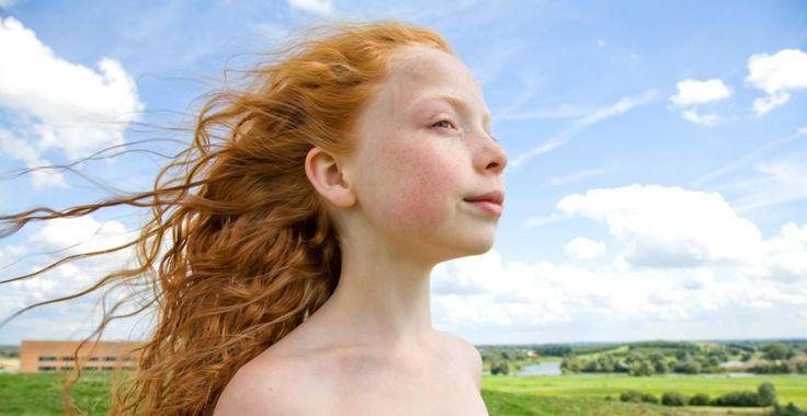 natuurlijk rood haar | valerie | foto: hanne van der woude