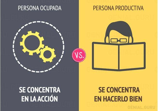 """""""Las personas productivas no se centran en las horas de trabajo, sino en los resultados."""""""