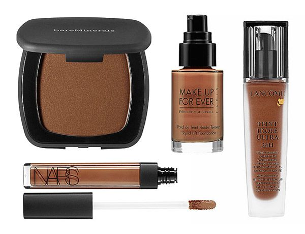 makeup tips for dark skin Derrick Rutledge