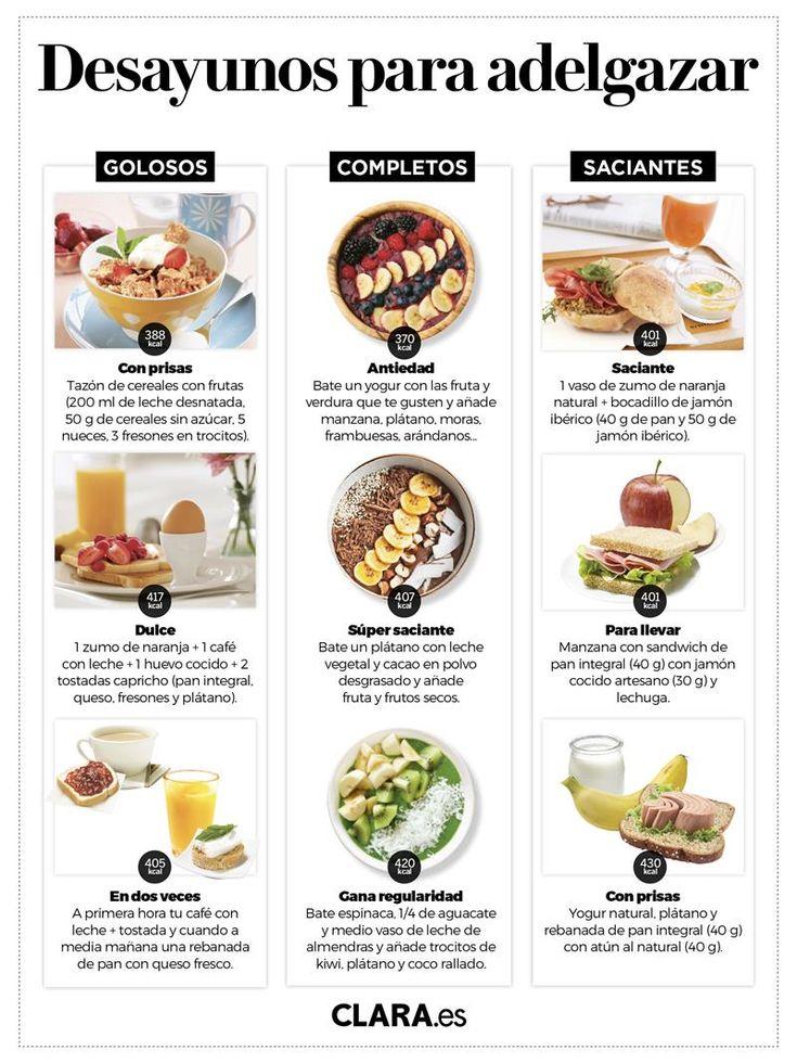 Desayunos saludables: 35 ideas sanas, fáciles y deliciosas Delicious Breakfast Recipes, Good Healthy Recipes, Healthy Drinks, Real Food Recipes, Healthy Snacks, Healthy Eating, Yummy Food, Comidas Fitness, Healthy Nutrition