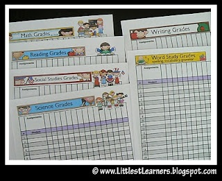 Teacher Organizer Binder- really great ideas to make templates for ...