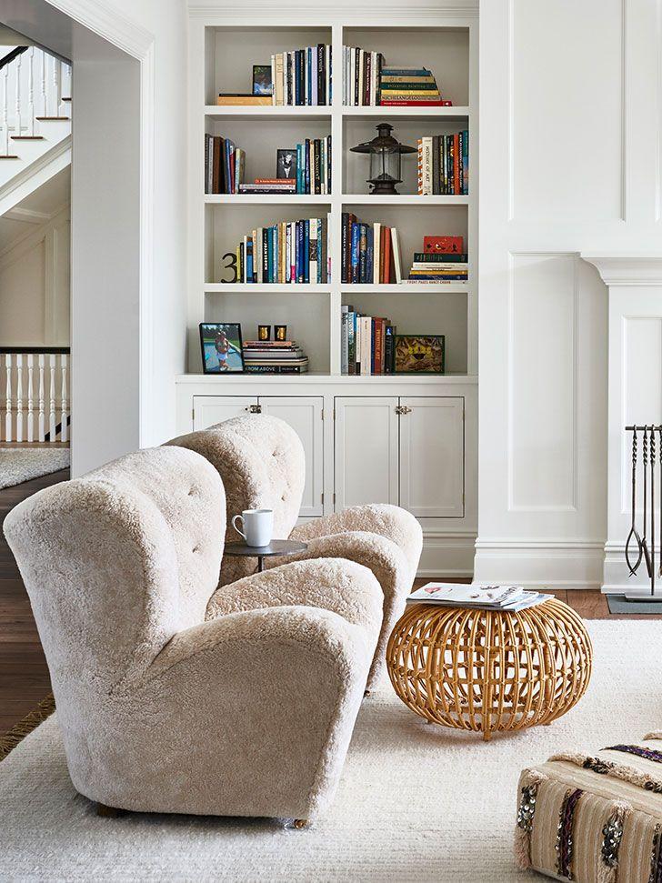 Bolshoj I Svetlyj Dom Na Long Ajlende Photos Ideas Design Living Room Furniture Recliner Family Room Design Living Room Designs