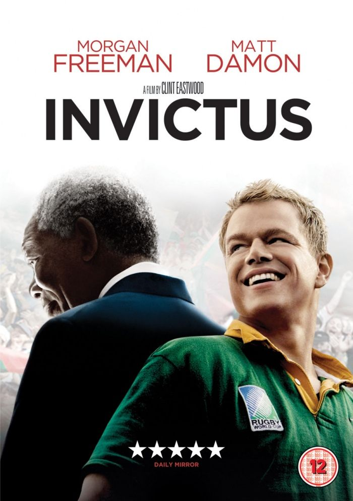 INVICTUS (2009): Nelson Mandela, in his first term as the South African President, initiates a unique venture to unite the apartheid-torn land: enlist the national rugby team on a mission to win the 1995 Rugby World Cup. Inspiring true story.