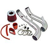 Deals week Spec-D Tuning AFC-CV06LXRD-AY Honda Civic DX LX EX 1.8L L4 Cold Air Intake Red Filter sale