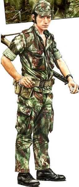 Portuguese paratrooper
