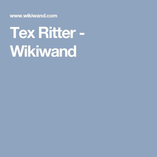 Tex Ritter - Wikiwand