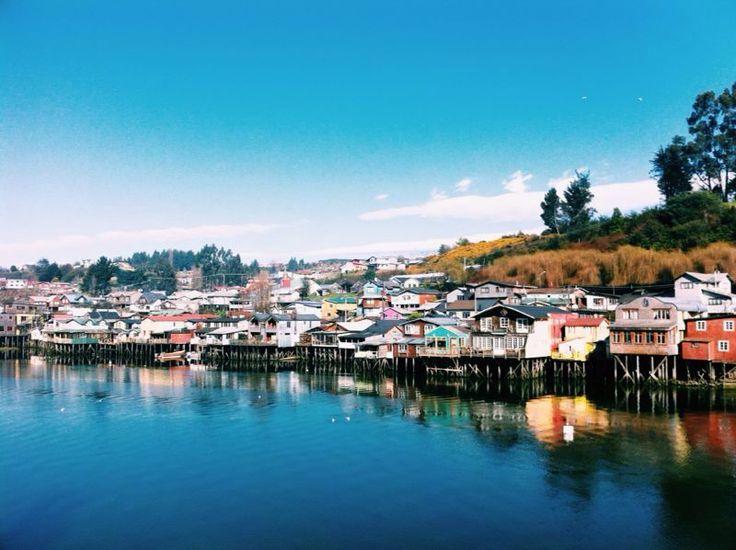 Castro, Isla de Chiloe, Chile