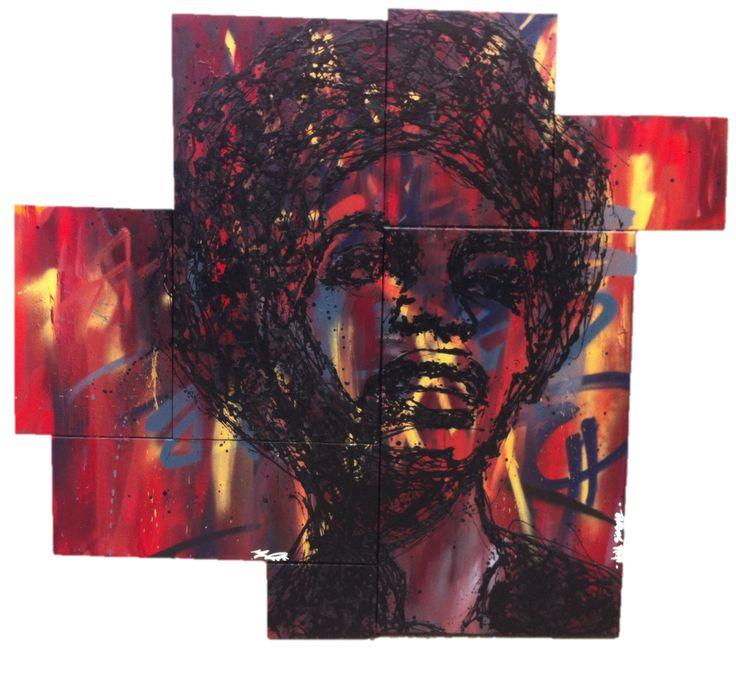 Nina Simone 180cm / 180cm