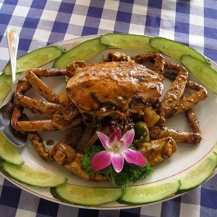 Steamed crab, fantastic! Hong Kong, China