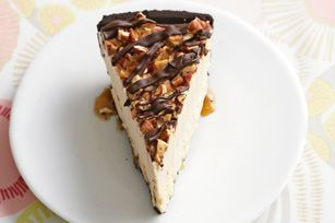 Frozen Peanut Butter Turtle Pie recipe #PLANTERS