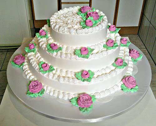 25 Modelos de Bolo de Casamento Simples e Barato (Sugestões)