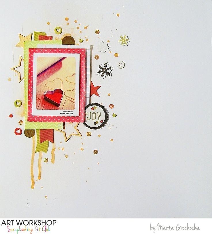 Art Workshop Kit Club December 2014 Scrap Main Kit by Jamajka