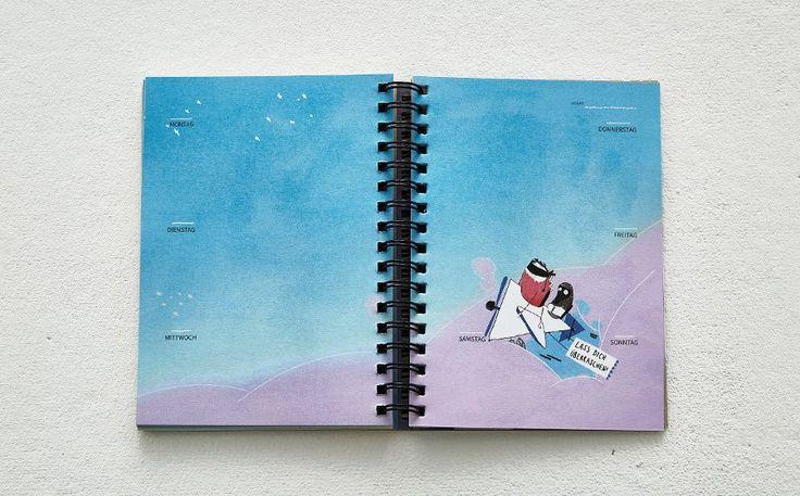 Prinz Apfel – Ewiger Kalender groß und klein Kalenderseite