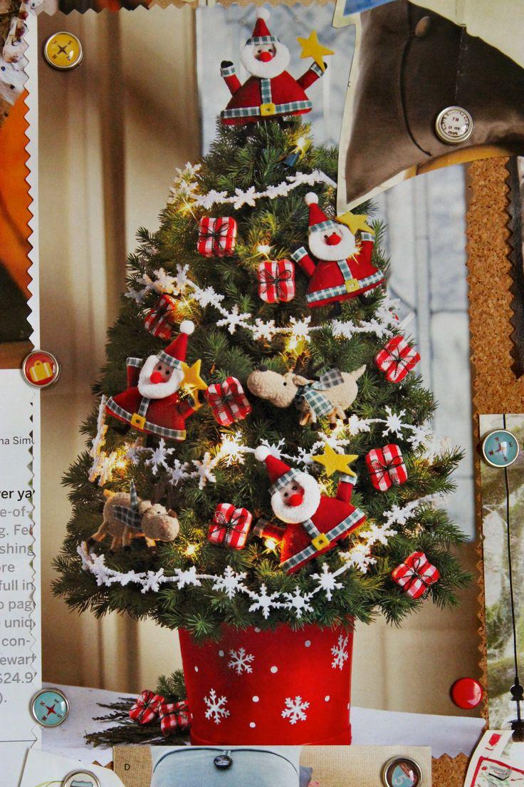 Nice christmas ornaments - Xmas Tree Decorating Ideas With With Nice Santa Snowman Ornament Design For Christmas Tree Decorating Ideas