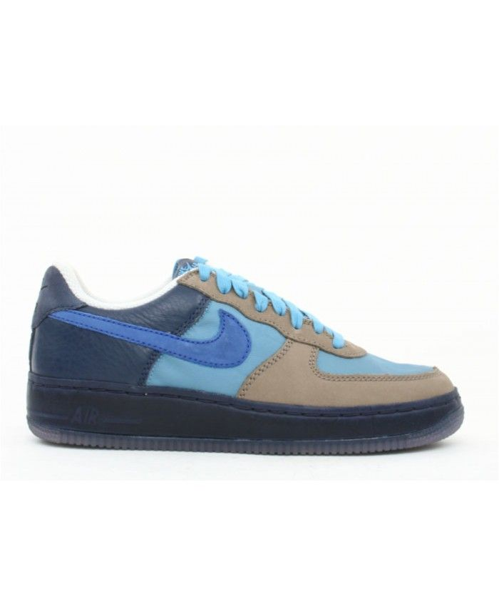 Air Force 1 Low Io Premium Stash Harbor Blue, Sport Royal-Soft Grey 313213-441