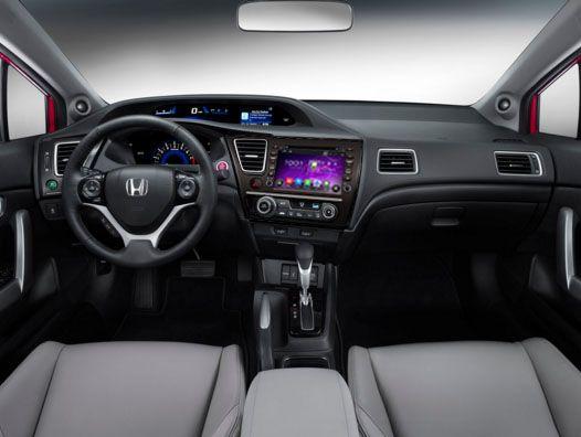 7 steps to upgrade 2014 Honda Civic Sedan Radio with 3D map DVD player bluetooth music.