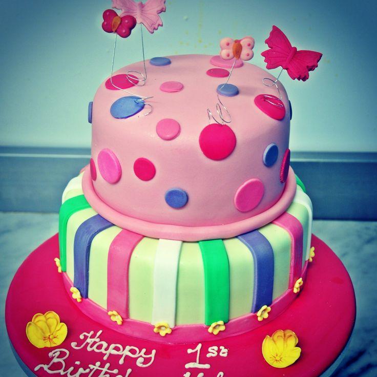 Spots and stripes #bespoke #sugarcraft birthday cake #irishbaking #dublinbakery #celebration #birthdaycake