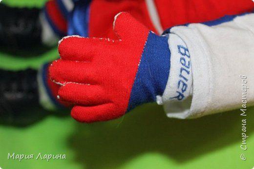 Куклы День рождения Папье-маше Шитьё трус не играет в хоккей   Капрон фото 3