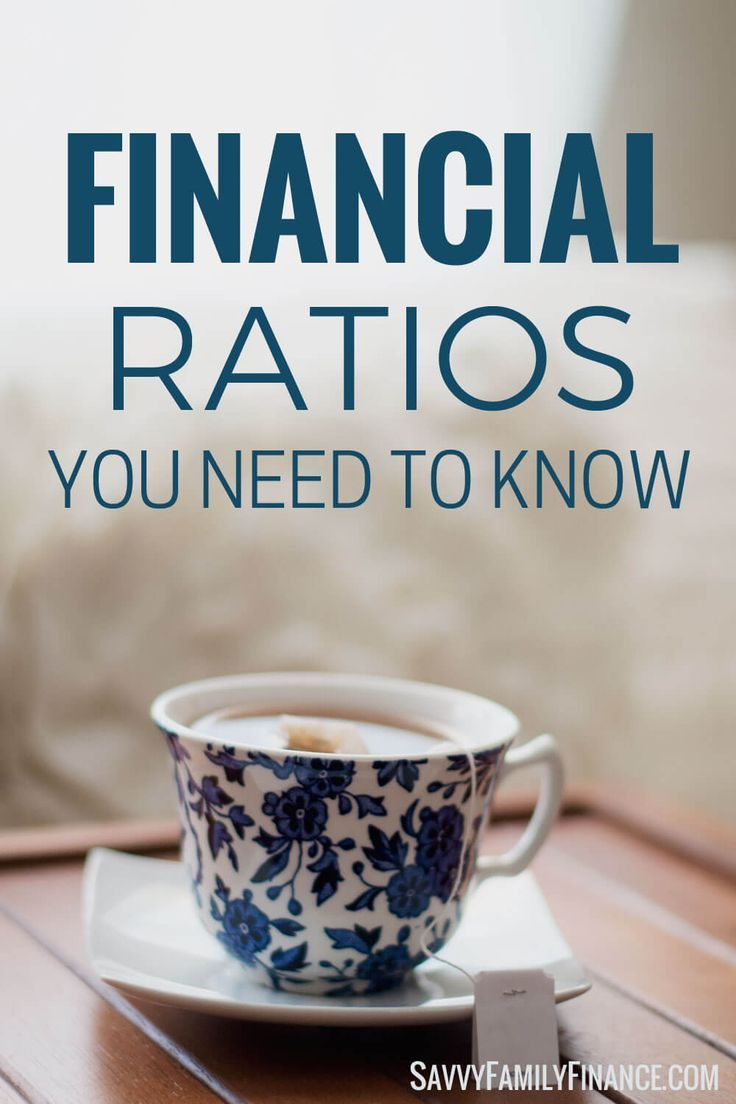 Money ratios can be a good indicator of your financial health.