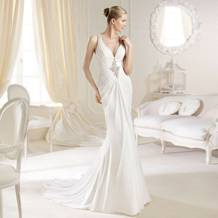 Fashionably Yours - Marey Wedding Gown By La Sposa , Please call for pricing on 02-94874888 (http://fashionably-yours.com.au/marey-wedding-gown-by-la-sposa/)