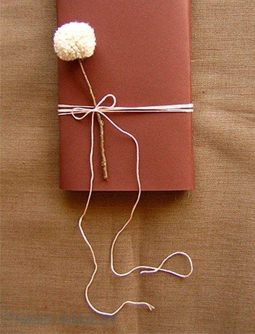 Минималистичная упаковка подарков