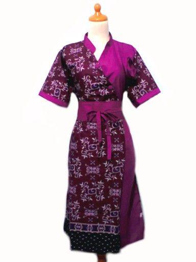 dress batik DB046