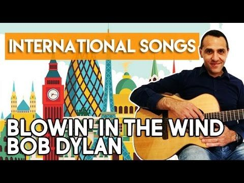 How to Play BLOWIN' IN THE WIND - Bob Dylan - EASY Guitar