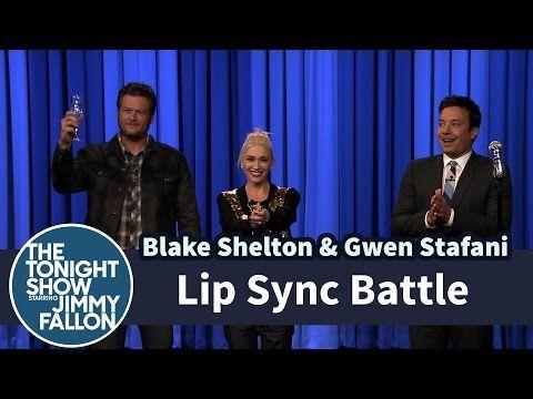 jimmy fallon lip sync battle blake and gwen dating
