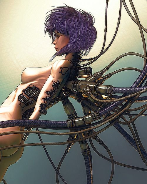 Ghost in a Shell - Motoko