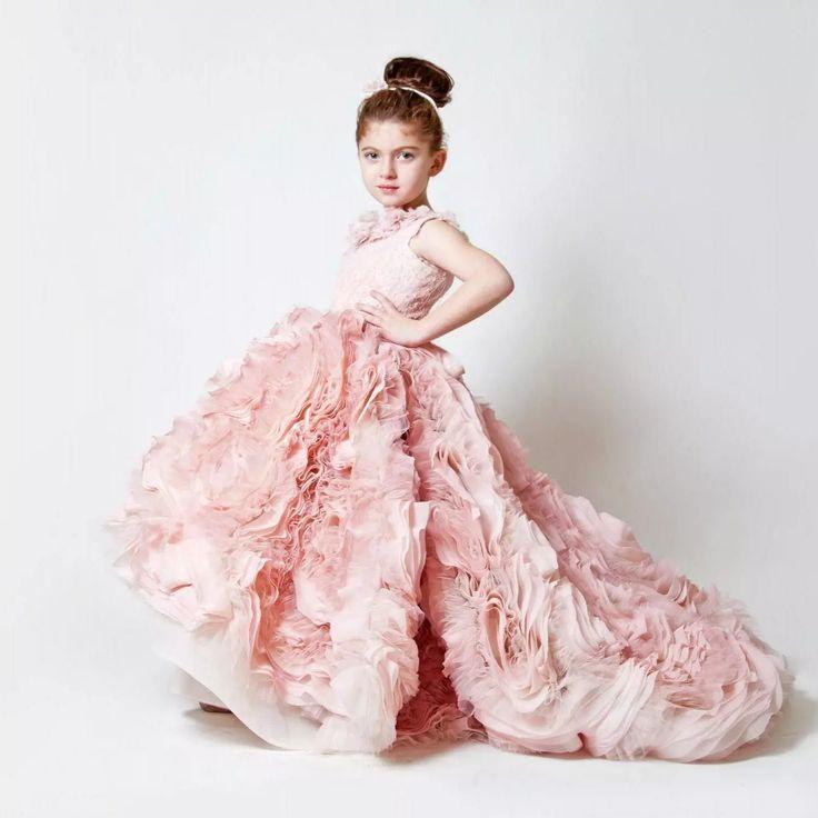 Best 10  Designer flower girl dresses ideas on Pinterest | Purple ...