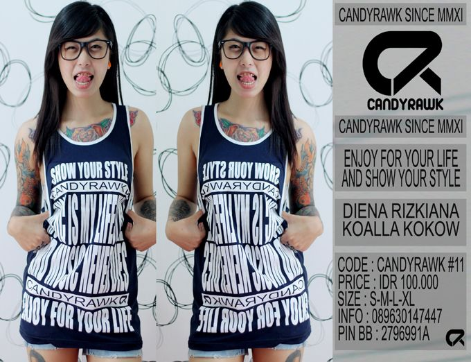 #40 | CANDYRAWK #11 | IDR 100.000 | SOLD OUT |