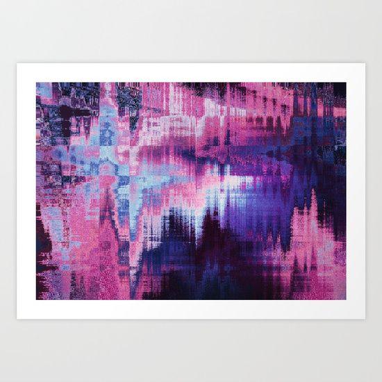 violet abstract background Art Print #OksanaAriskina #OksanaAriskinaFineArtPhotography #Artworks #FineArtPhotography #HomeDecor #FineArtPrints #FineArtAbstract #Fractal #AbstractBackgrunds #ArtForSale  #Pink #Violet #Glitch #Distort #Framed #Print