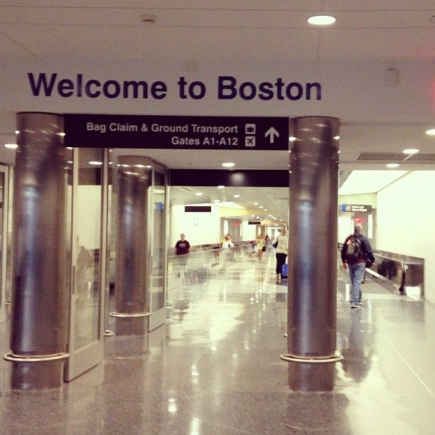 Boston Logan International Airport (BOS) in Boston, MA