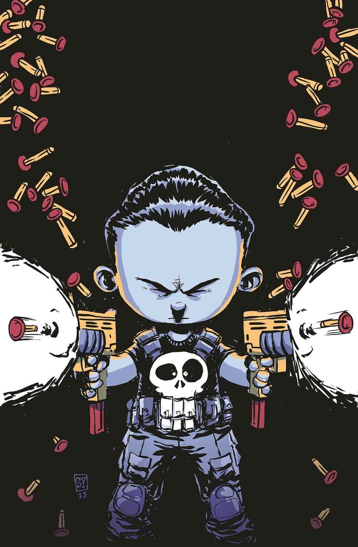 Punisher #1 (Skottie Young Variant Cover)