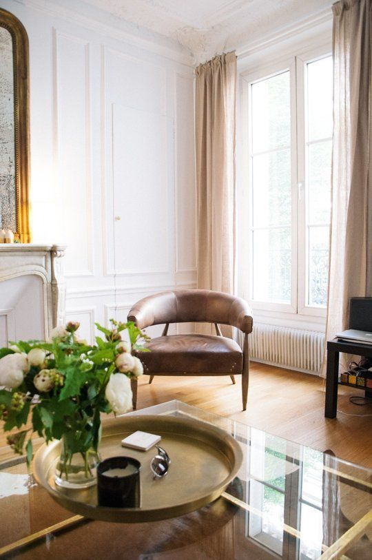 Libby & Tim's Natural & Glamorous Parisian Flat — Gorgeous Global House Tour