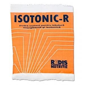 Isotonic-R este o bautura isotonica reconfortanta care contine si cele mai importante vitamine si minerale. Comanda minima, 5 plicuri.